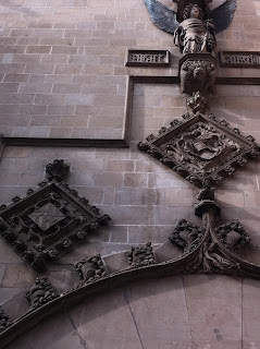 escudo barcelona antiguo