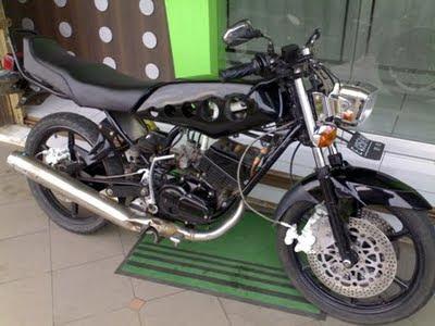 Modifikasi Knalpot Yamaha Rx King