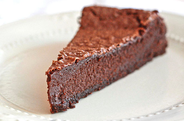 Lemon Drop: Gluten-Free Dark Chocolate Mud Pie