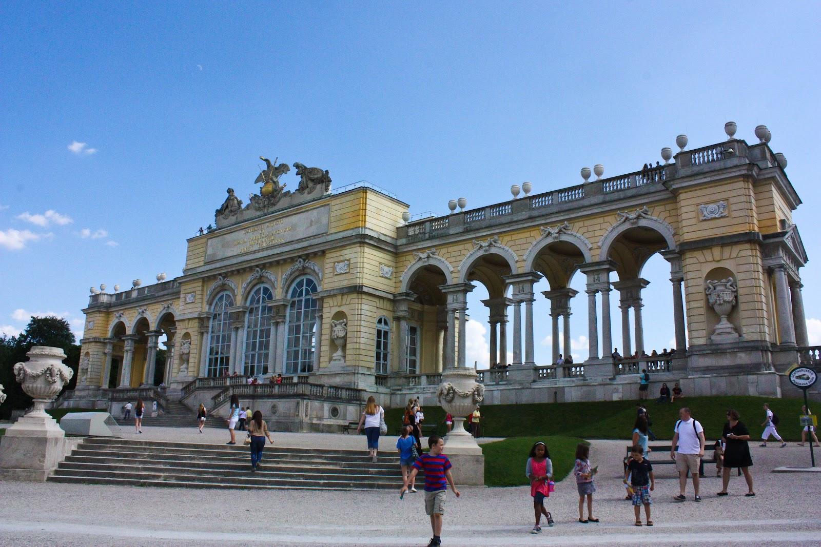 Schonbunn, Gloriette, Vienna, Austria, expat, travel,