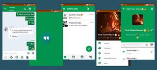 Kumpulan BBM MOD v2.10.0.31 Tampilan Elegan Untuk Android