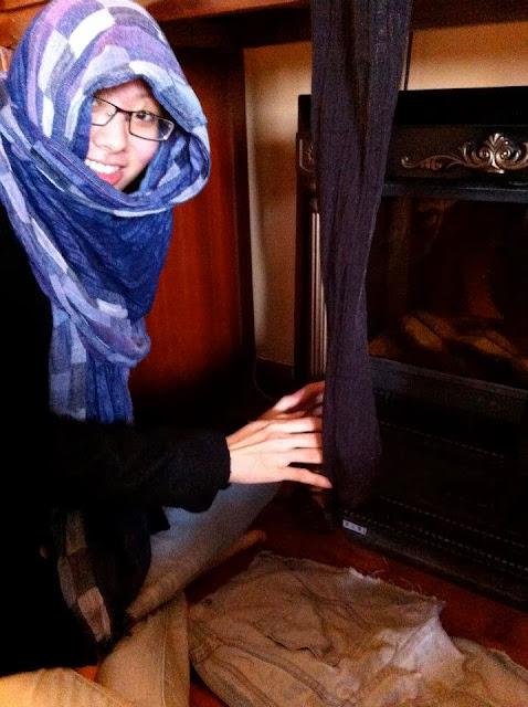 Vietnam fireplace