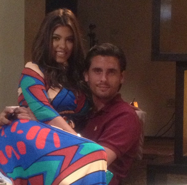 Kourtney Kardashian And Scott Disick Look Ok After The Rumors About