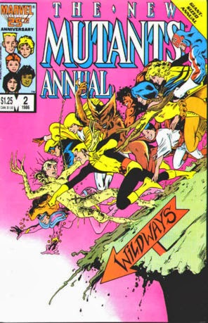 New Mutants Annual #2 image