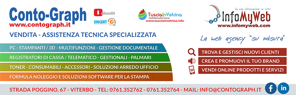 Conto-Graph InfoMyWeb Viterbo - Olivetti -