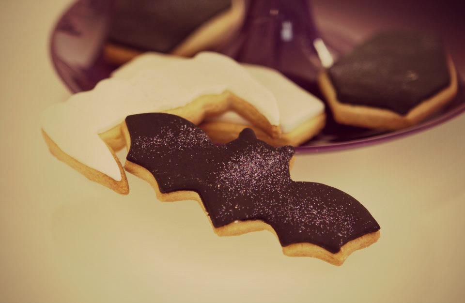 biscuits chauve-souris halloween
