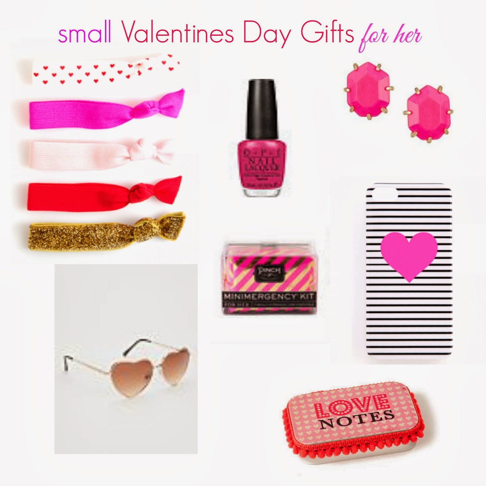 Hot pink and high ponies small valentines day gifts for her for Small valentines gifts for him