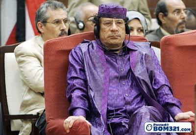 Muammar Gaddafi Dan Pakaiannya