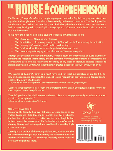 The House of Comprehension Back Cover