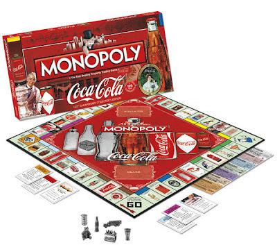 Juego monopoly coca cola aniversario el regalo original - Regalos coca cola ...