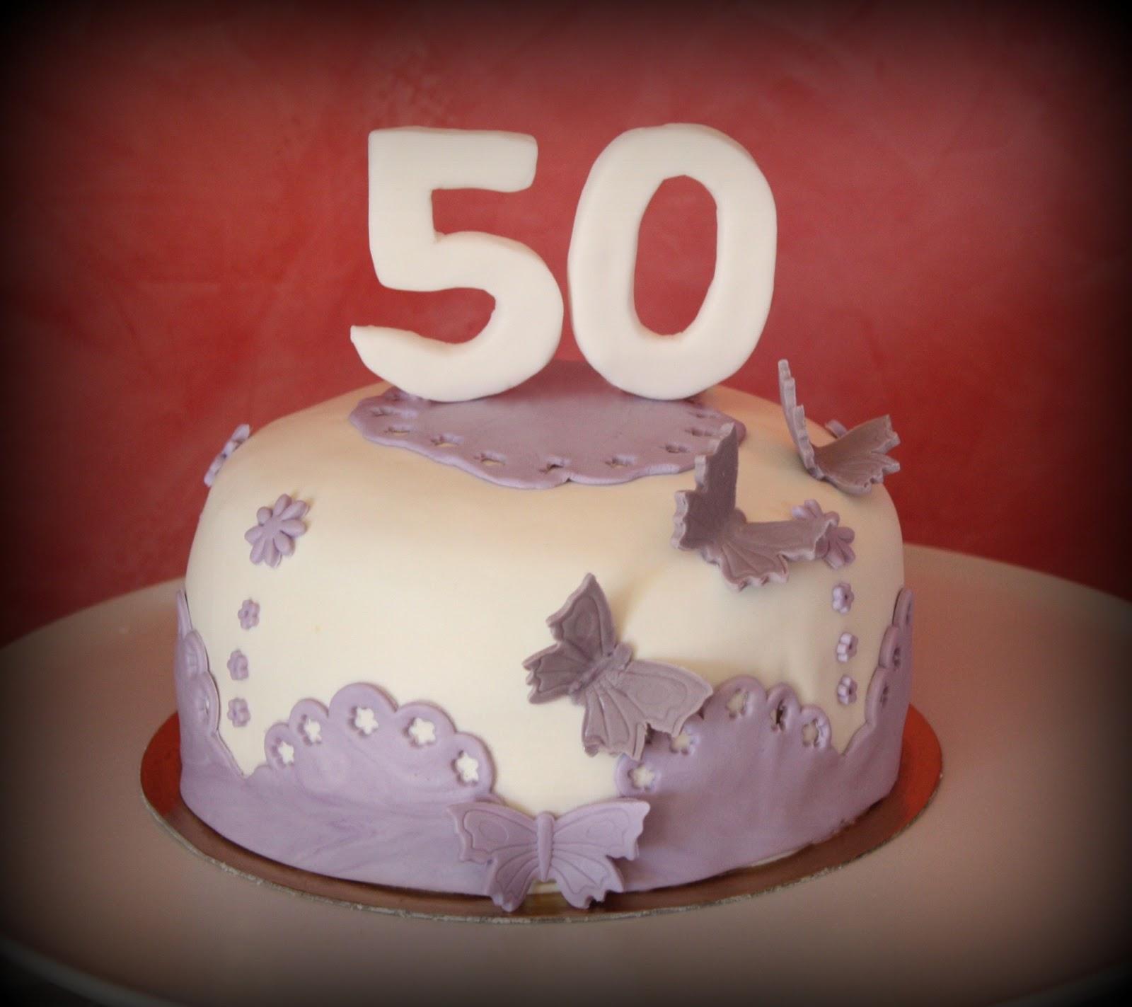 Torte di compleanno per 50 anni ai26 pineglen for Decorazione torte per 50 anni di matrimonio