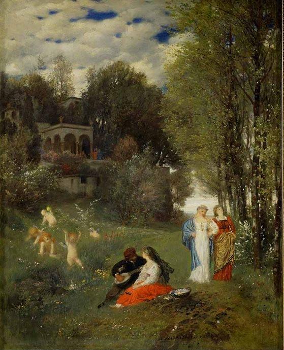 Arnold Böcklin 1827-1901 | Swiss Symbolist painter