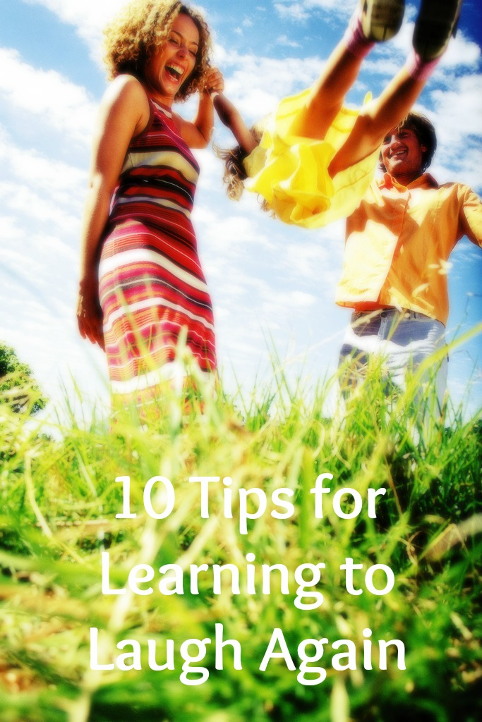 10 Tips for Learning How to Laugh Again by Beth Hemmila of Hint Jewelry