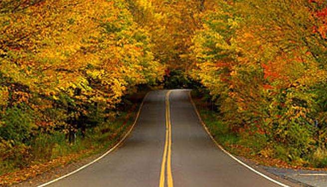 Yamh berubah, musim gugur di sini bisa dinikmati dengan sangat damai