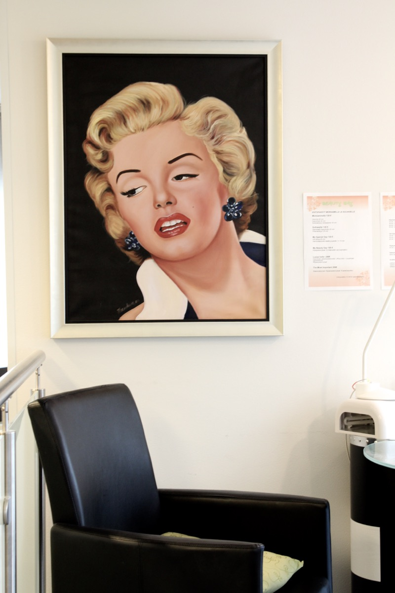 Marilyn maalaus