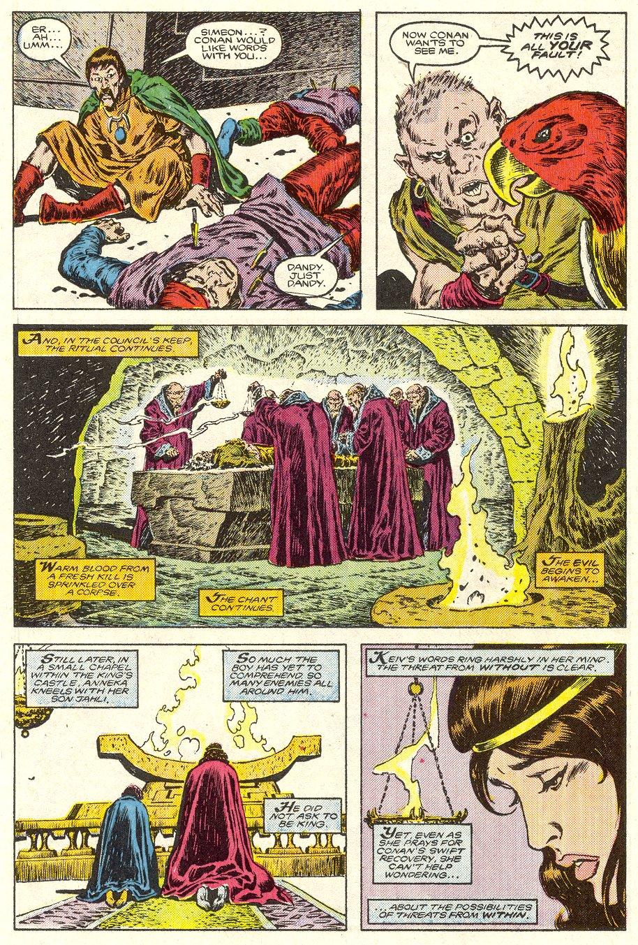 Conan the Barbarian (1970) Issue #187 #199 - English 13