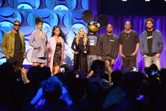 Jay-Z launches Tidal 2015