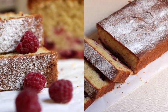 Raspberry Almond Cake - or almost Pierre Hermé Ispahan Loaf Cake | Vintage Kitchen Notes