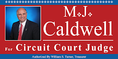 Elect M.J. Caldwell For Circuit Court Judge