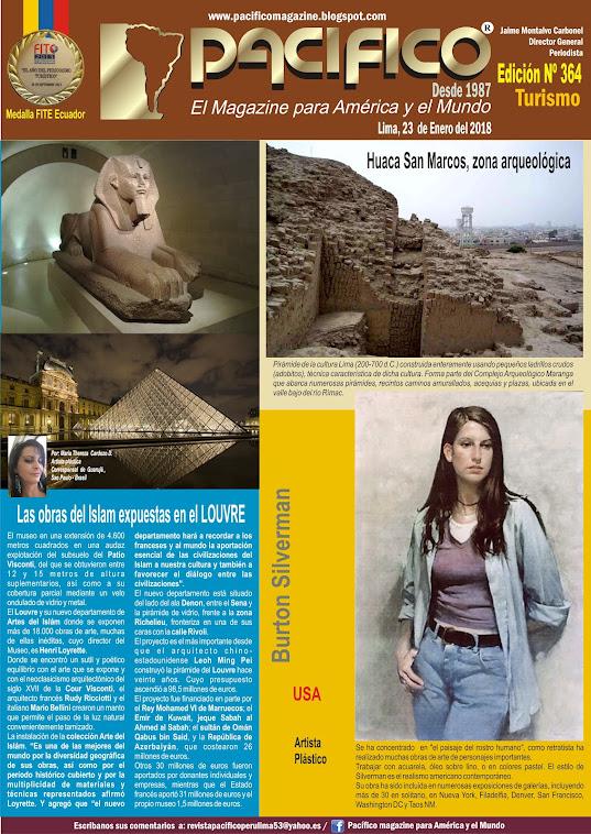 Revista Pacífico Nº 364 Turismo