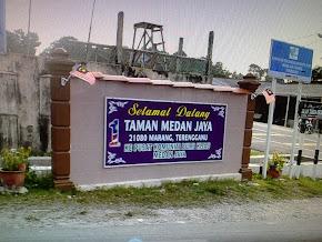 Selamat Datang Kampung Taman Medan Jaya