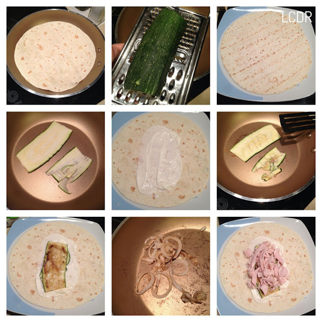 Receta de wrap de pollo con mayonesa de yogur 01