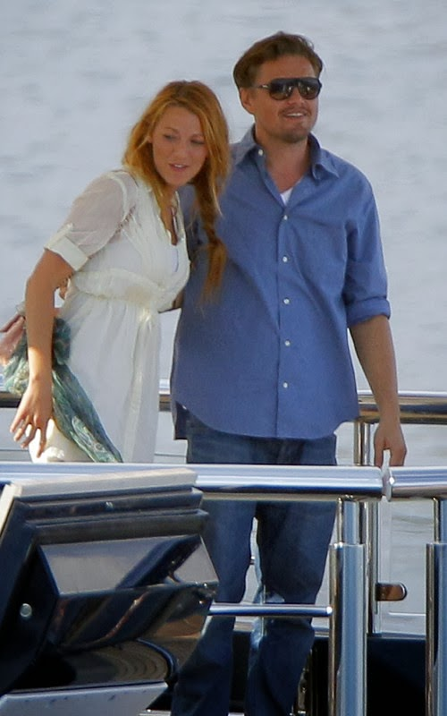 Blake Lively y Leo DiCaprio