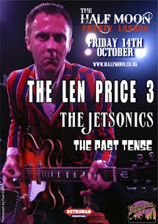 The Len Price 3 Live October 14th