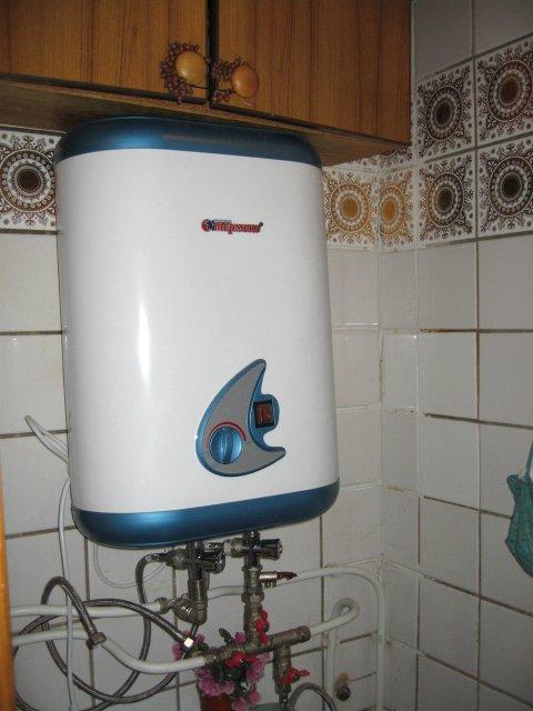Водонагреватель из стиральной машины