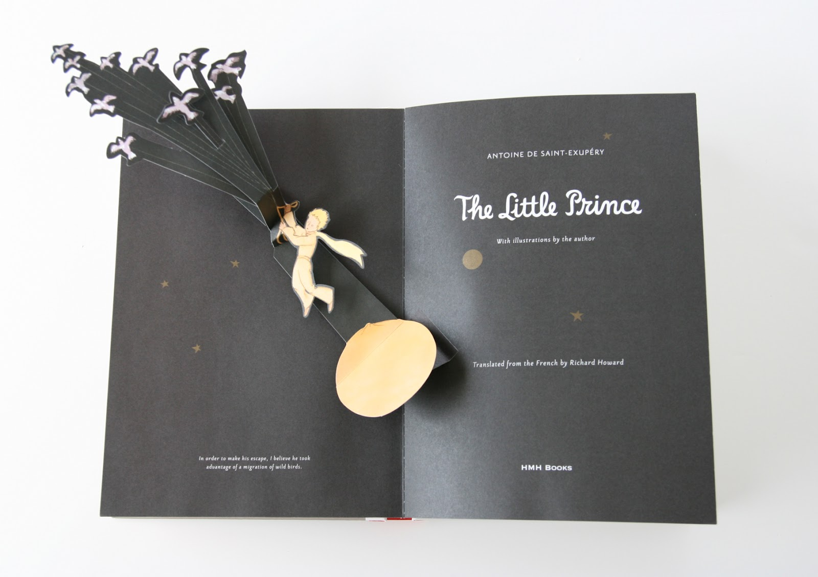 stephmodo the little prince deluxe pop up book. Black Bedroom Furniture Sets. Home Design Ideas