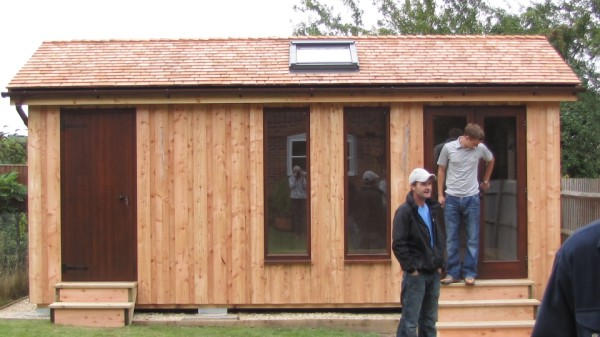 Shedworking integrated garden office and shed for Garden office and shed