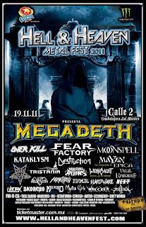Megadeth En México 2011 Calle 2 Guadalajara
