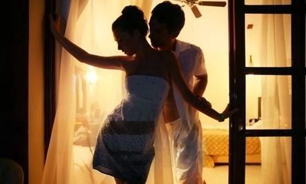 The Ashley Madison Moment - man woman dance window bedroom