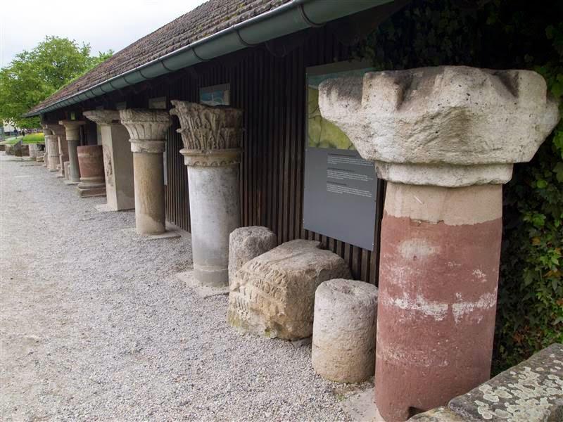 Augusta Raurica - Columnas