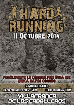 Hard Runnnig de Villafranca de los Caballeros