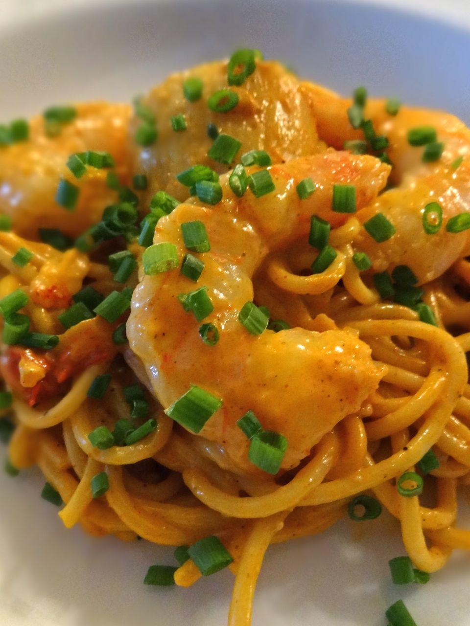 Lobster Shrimp Scallop Newburg Pasta