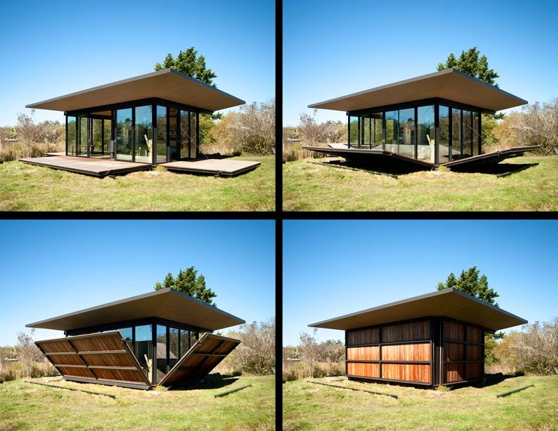 Real life is elsewhere false bay writer 39 s cabin for Architect washington state