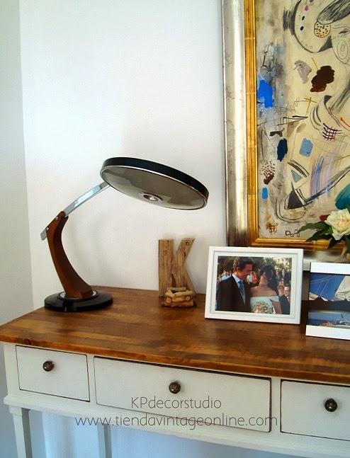 Lámparas tipo fase vintage gei gabinete estudios industriales. Flexos y lámparas de mesa vintage