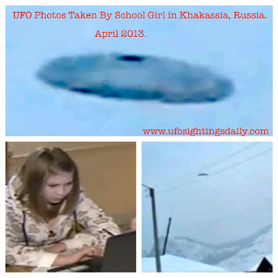 Ufo ufos sighting sightings alien aliens et russia april 2013