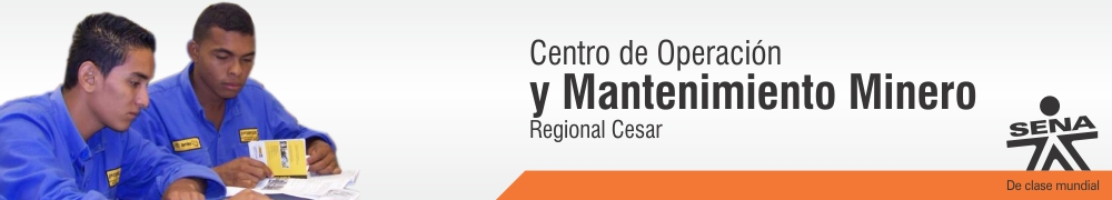 Centro de Operacion y Mantenimiento Minero - SENA Regional Cesar