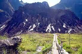 keindahan gunung kelud