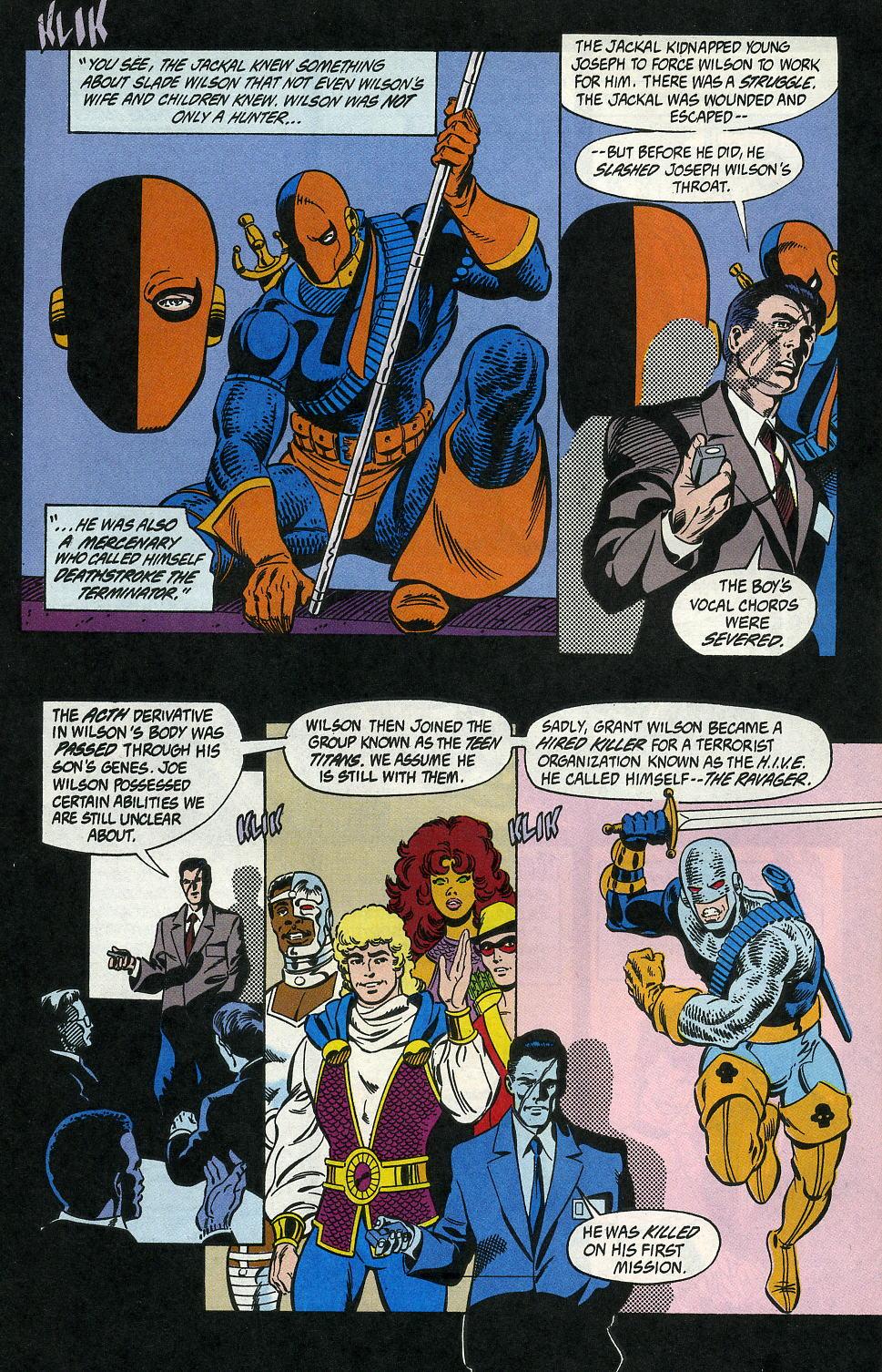 Deathstroke (1991) Issue #2 #7 - English 30