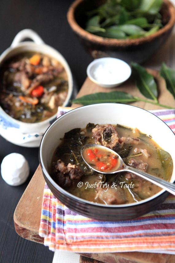 Resep Sup Iga Daun Kedondong JTT