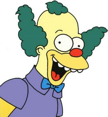 El consultorio de homer simpsons krusty el payaso - Clown simpson ...