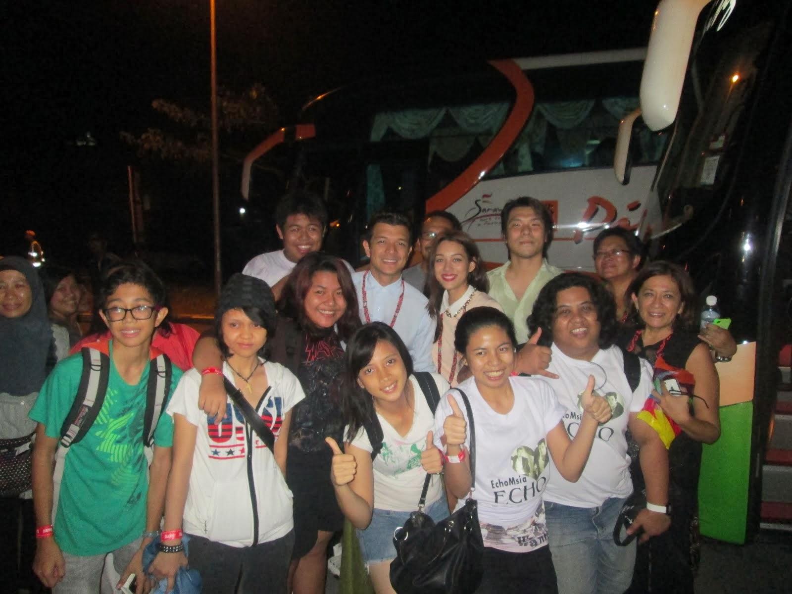 Jericho Rosales & EchoMsia (Sarawak)