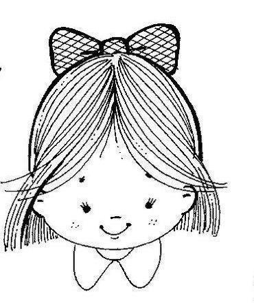 Dibujos Para Colorear De Nenas. Best Dibujo De Aos Para ...