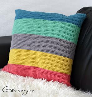 DIY - Hæklet sofapude