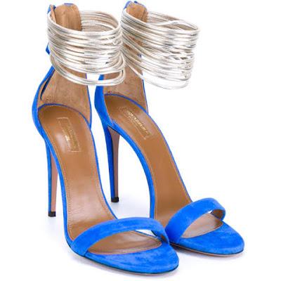 cor reveillon azul sandalia