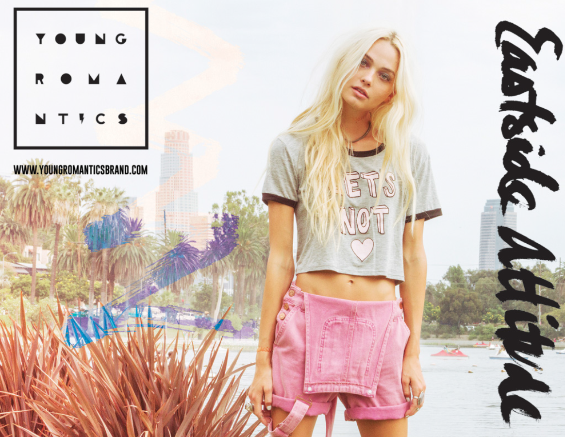 New Lookbook For PacSun & Young Romantics