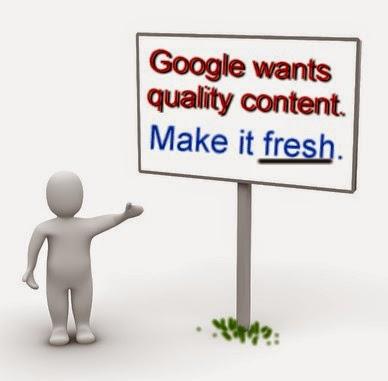 Cara Baru Agar Tulisan di Blog Cepat Diindeks Google